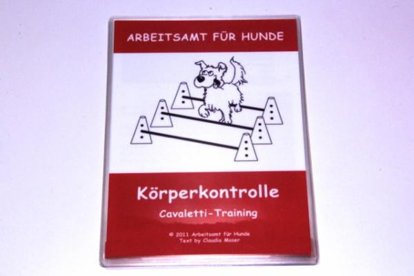 Trainingskarten Körperkontrolle - Cavaletti Training